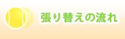 ガット張り|岐阜県土岐市|ガット張り工房Sin|張り替えの流れ
